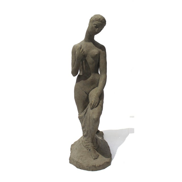 "Vintage Willhelm Lehmbruck ""Kneeling Woman 1911"" Museum Sculpture Reproduction For Sale In West Palm - Image 6 of 13"