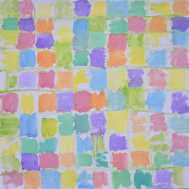 "Modern Abstract Contemporary Painting, ""Spring Equinox"", by Stephen Remick For Sale - Image 12 of 12"