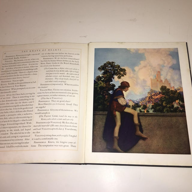 1st Ed 1925 the Knave of Hearts Maxfield Parrish For Sale - Image 11 of 11