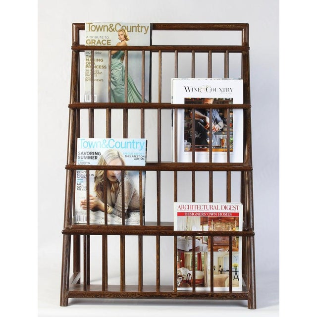 Large and Unusual Mid-20th Century Magazine Rack For Sale In Richmond - Image 6 of 9