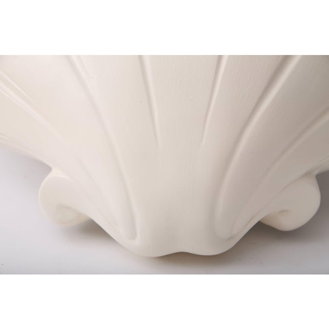 Sirmos Scallop Clam Shell-Form Wall Sconces by Sirmos - a Pair For Sale - Image 4 of 10