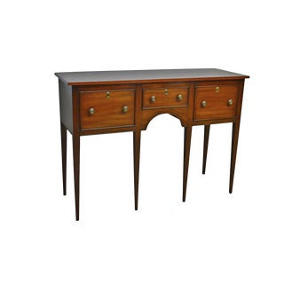 Kittinger Colonial Williamsburg Mahogany Huntboard Sideboard For Sale