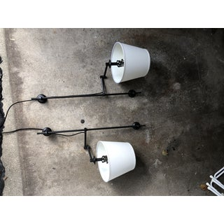 Pottery Barn Elise Adjustable Wall Sconces - a Pair Preview