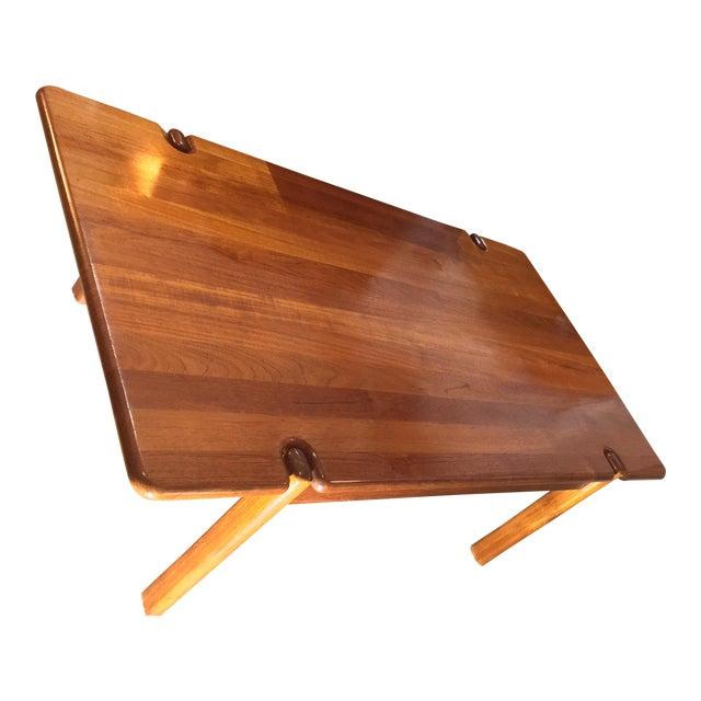 Tarm Stole Mid-Century Solid Teak Danish Coffee Table For Sale