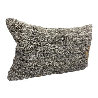 Turkish Kilim Decorative Lumbar Pillow Cover For Sale