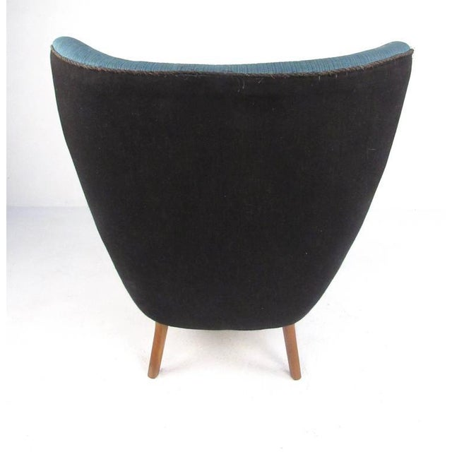 Madsen & Schübel Pragh Wingback Lounge Chair For Sale In New York - Image 6 of 9