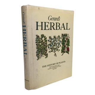 """Gerard's Herbal - the History of Plants"" Book"