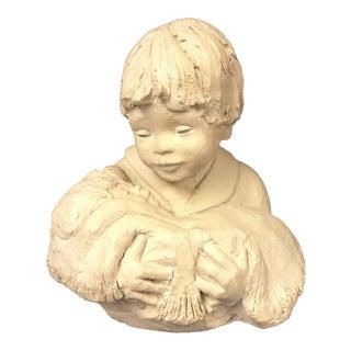 """Austin Productions """"Embrace II by Boris 1991"""" Sculpture For Sale"""