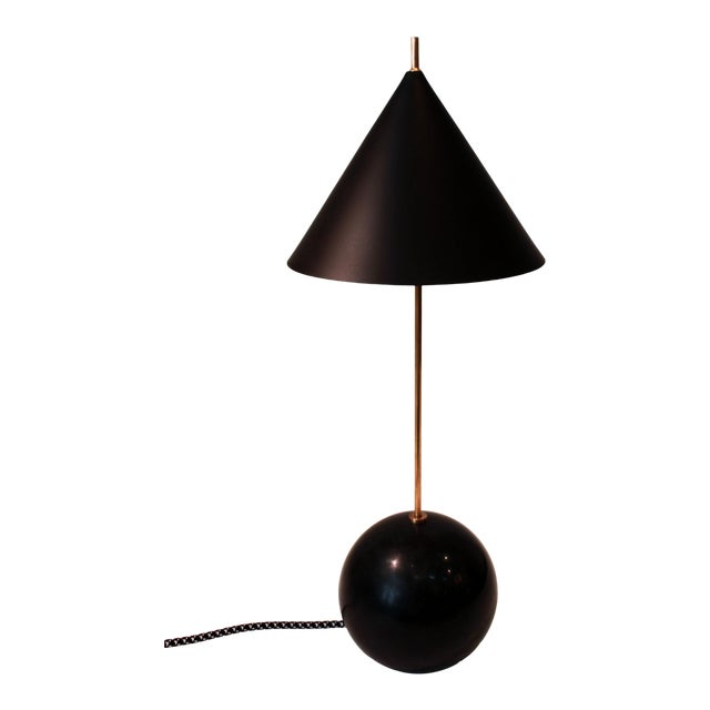 New Visual Comfort Cleo Orb Base Accent Lamp For Sale