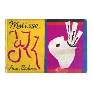""""""" Matisse Jazz """" Piper Bucherei Rare 1st Edtn 1957 Collector's Lithograph Print Art Book"""