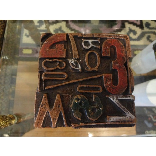 Mid Century Modern Alpha Cube Sculpture by Sheldon Rose For Sale - Image 4 of 13