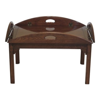 Chippendale Pennsylvania House Cherry Butler Coffee Table For Sale
