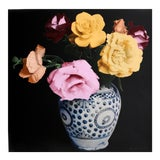 Image of Flower Arrangement Screenprint For Sale