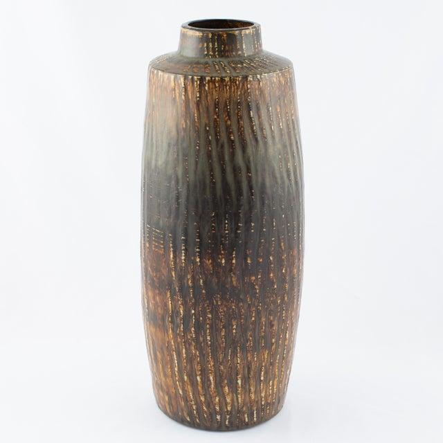 "Gunnar Nylund Gunnar Nylund for Rørstrand ""Rubus"" Floor Vase Circa 1950s For Sale - Image 4 of 10"