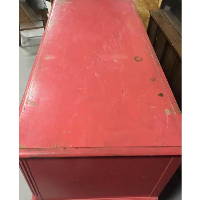 Pink Berkey and Gay Pink Chest of Drawers, Dresser, Signed For Sale - Image 8 of 10