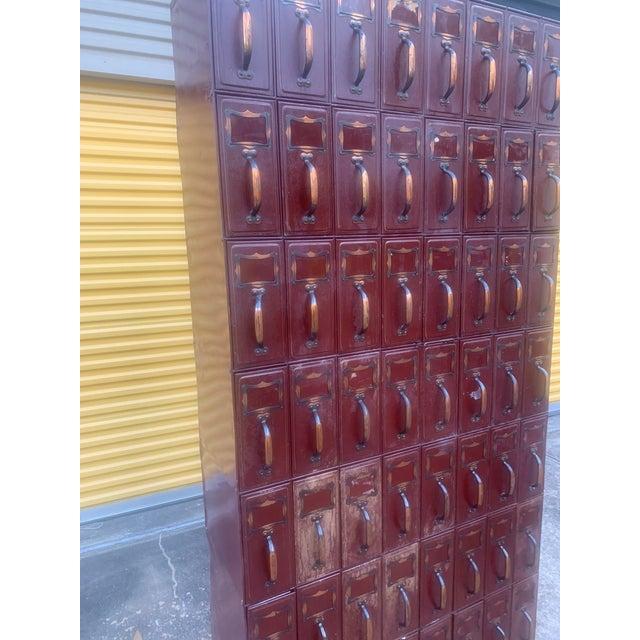 Vintage Industrial File Cabinet For Sale - Image 12 of 13