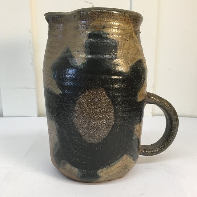 Vintage Hand Crafted Ceramic Pitcher - Image 2 of 8