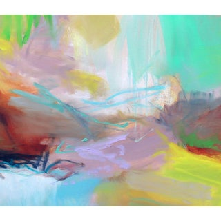 """""""Appalachian Trail"""" by Trixie Pitts Large Abstract Expressionist Oil Painting Preview"""