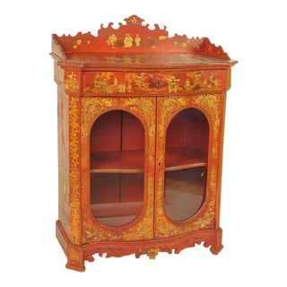 Chinoiserie Decorated Cabinet