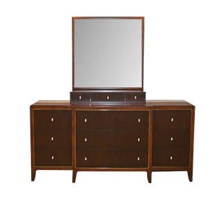 Caracole in the Groove Mahogany Dresser