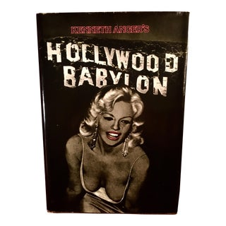 "1981 Hardback ""Hollywood Babylon"" by Kenneth Anger- Annotated/Special Edition For Sale"