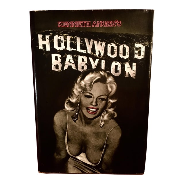"1981 ""Hollywood Babylon"" by Kenneth Anger- Annotated/Special Edition For Sale"