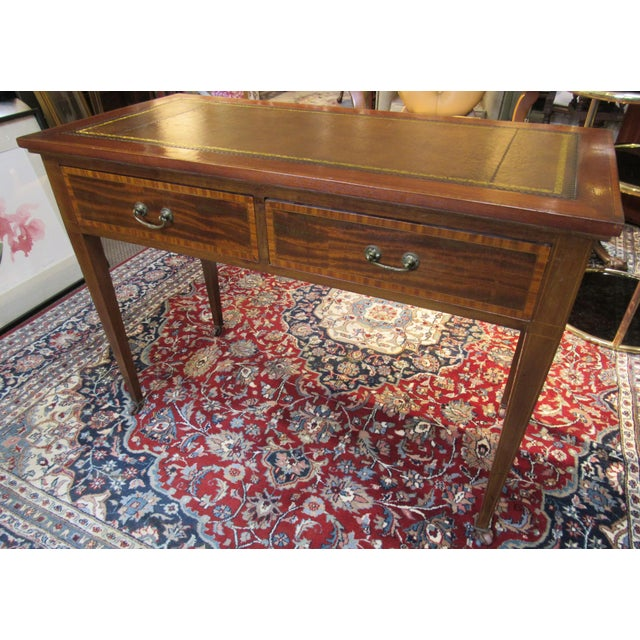 19th Century English Writing Desk For Sale - Image 4 of 6