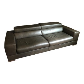 Contemporary Modern Leather Sofa
