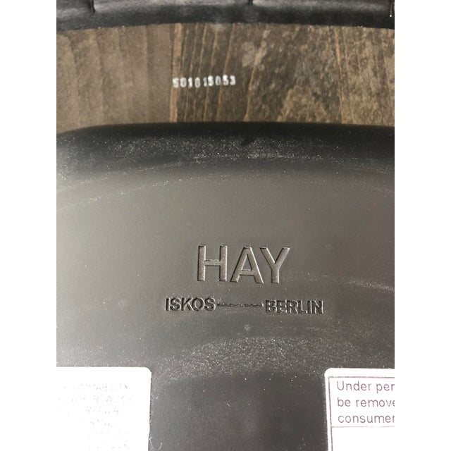 Preowned Hay Iskos-Berlin's Soft Edge Stackable Chairs -Set of Four For Sale - Image 11 of 13