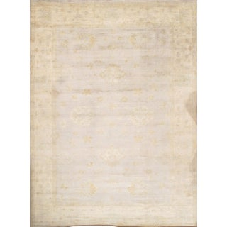 """Pasargad N Y Oushak Design Hand-Knotted Rug - 11'9"""" X 16'4"""""""