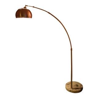 Marble Base Arc Lamp