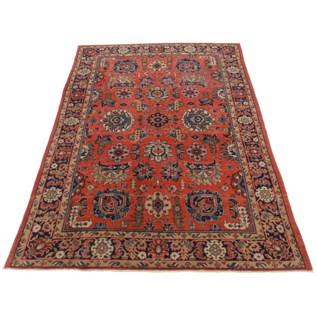 "Antique Persian Malayer - 7' x 12'2"" - Image 1 of 2"