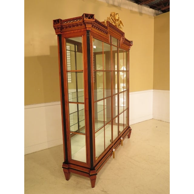 Colombo Italian Neoclassical Lighted Display Cabinet - Image 3 of 11