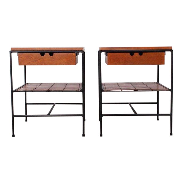 Pair of Nightstands by Paul McCobb For Sale