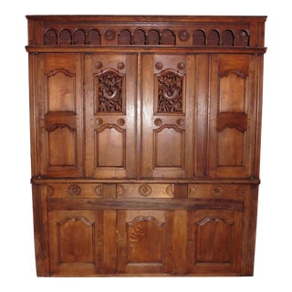 19th Century French Carved Buffet