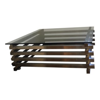 Nuevo Living Nuevo Stacked Clear Square Coffee Table