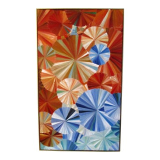 """""""Pinwheels"""" Oil on Canvas Painting For Sale"""