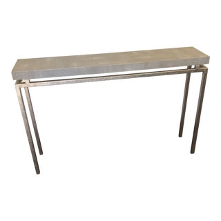 Contemporary Made Goods Benjamin Shagreen Console