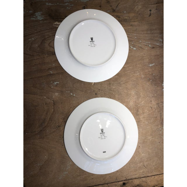 Set of Six Galuchat Plates by Manuel Canovas for Puiforcat For Sale - Image 10 of 13