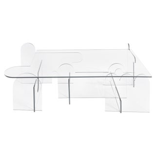 Invisible Perspective Table, Morgan Spaulding For Sale