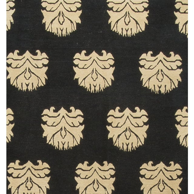 Modern Hand-Knotted Wool Rug - 2′ × 3′ - Image 3 of 3