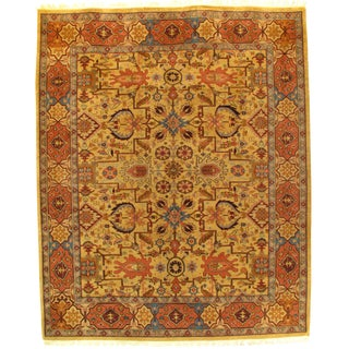 """Pasargad N Y Sultanabad Design Hand-Knotted Rug - 8'2"""" X 10'1"""" For Sale"""