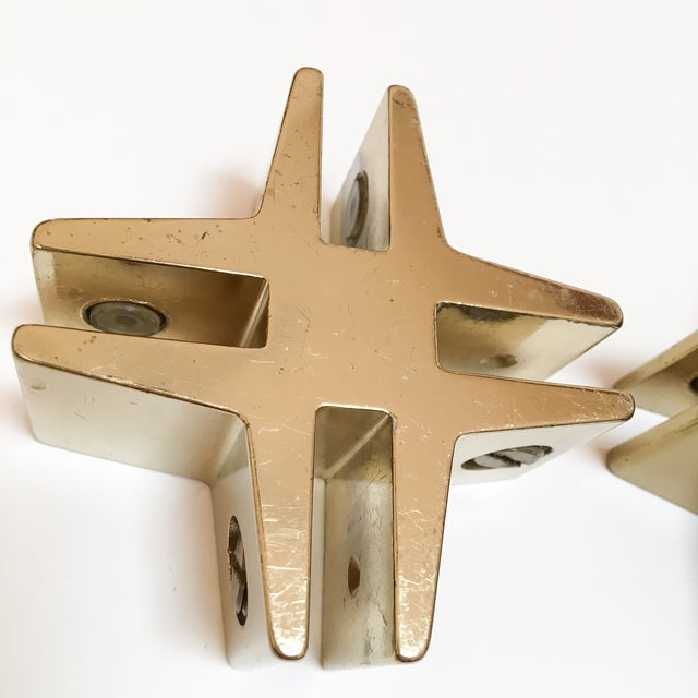 Brass Hashtags with Screw Detail - Pair - Image 8 of 9