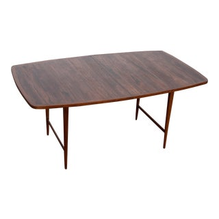 1960s Mid-Century Modern Paul McCobb Rosewood Lane Delineator Series Dining Table For Sale