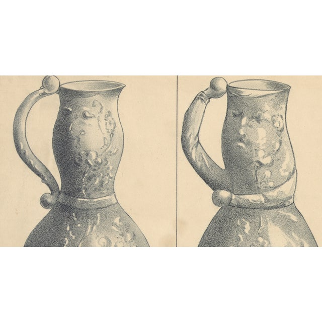 Evolution of a Pitcher, Baseball Print from 1800s - Image 2 of 3