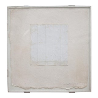 """""""Untitled"""", Robert Courtright, Collage Construction, Signed For Sale"""