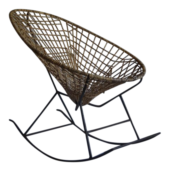 1960u0027s Acapulco Rocking Chair For Sale