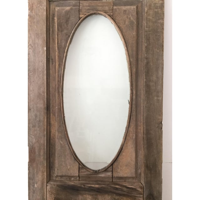 Antique Beveled Glass & Wooden Door - Image 10 of 10