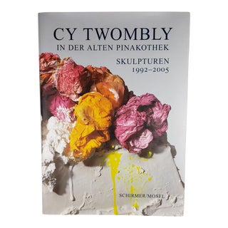 Cy Twombly Sculptures 1992-2005 in German Published by Schirmer-Mosel For Sale