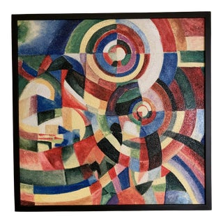 Framed Original Work Color Wheel Painting For Sale